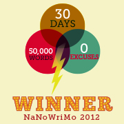 NaNoWriMo 2012 Winner